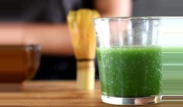 Matcha Soda {Sparkling Matcha Tea}