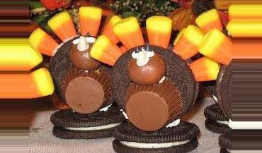 Thanksgiving Candy Turkey