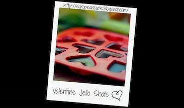 Valentines Jello Shots