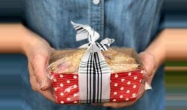 Mini Strawberry Bread Loaf