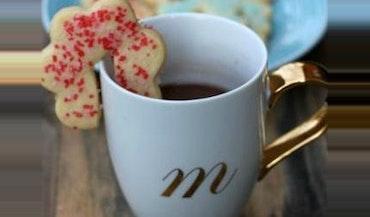 Hanging Coffee Mug Sugar Cookies