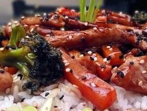 Easy Chicken Teriyaki with Rice