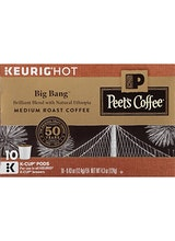 Peet's Coffee Big Bang Medium Roast Coffee K Cups
