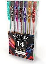 Arteza Glitter Gel Ink Pens