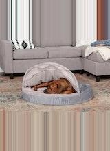 Furhaven  Plush Ergonomic Contour Cradle Orthopedic Foam Mattress Dog Bed