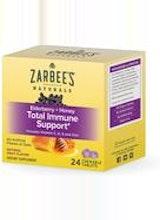 Zarbee's Elderberry + Honey Total Immune Support* Chewable Tablets