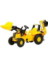 Kettler Kettler Caterpillar Front Load Tractor with Backhoe